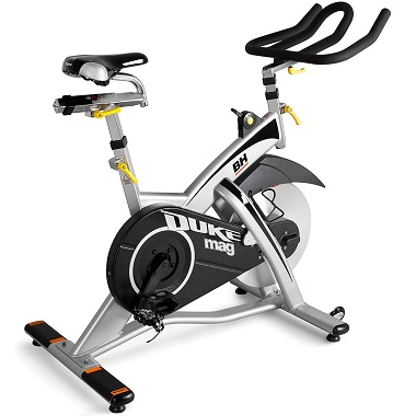 Bicicleta spinning resistencia magnetica BH Fitness Duke MAG H923
